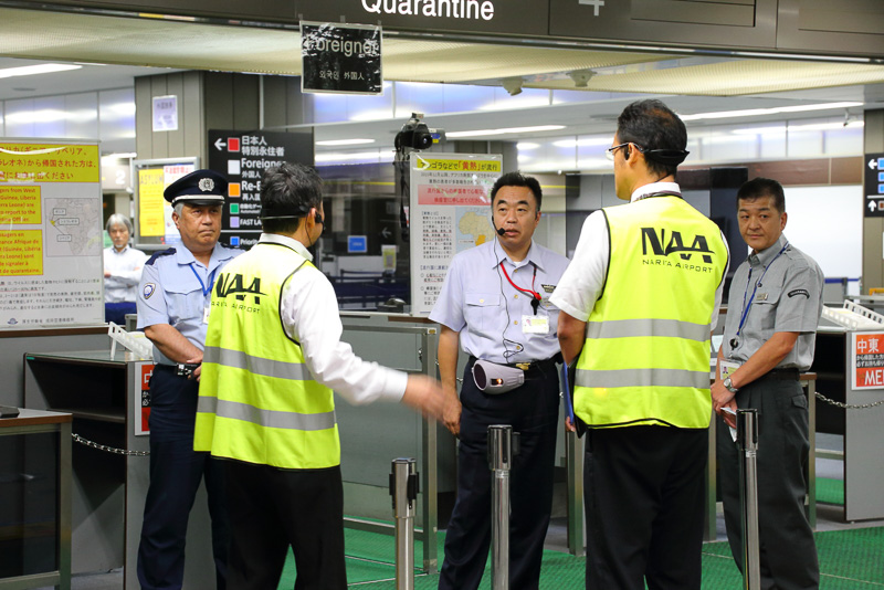 成田国際空港、悪天候時の混乱を想定した緊急対応訓練実施(2/27)