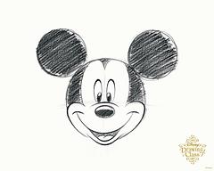 東京ディズニーランドミッキーマウスの描き方を学べるディズニー