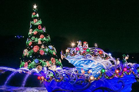 東京ディズニーシー開園15周年となる2016年のクリスマスウィッシュ
