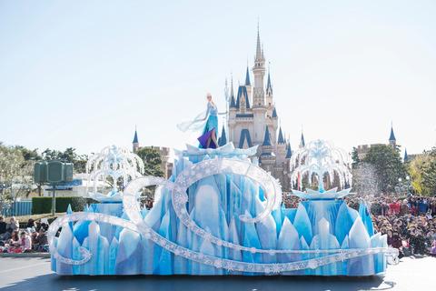 東京ディズニーリゾート、2018年冬のイベントを発表 「フローズンファンタジーパレード」