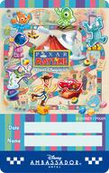 東京ディズニーリゾート、2018年冬のイベントを発表 ディズニーアンバサダーホテル 滞在記念カード(表面)