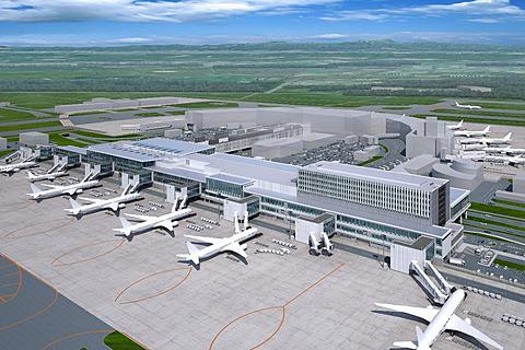 新千歳空港、国際線ターミナルを2倍に拡張。650億円をかけ2019年8月 ...