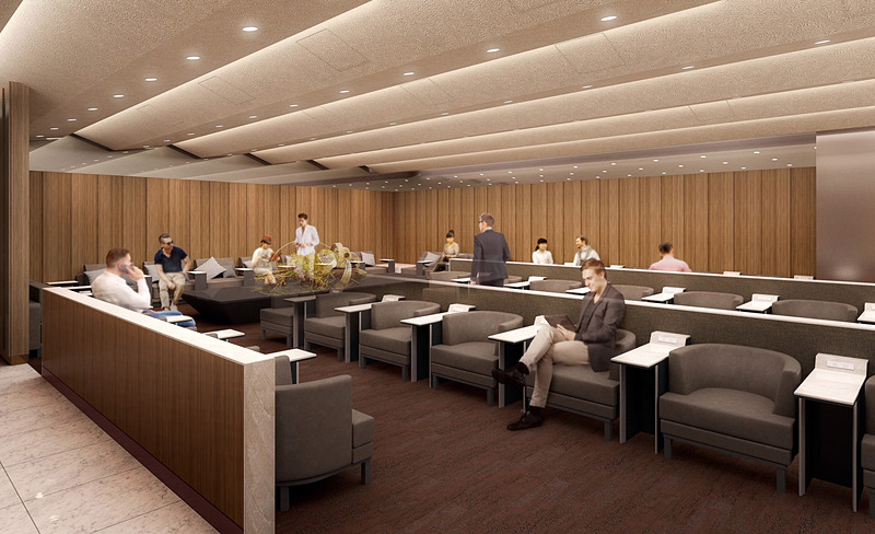 那覇空港の「ANA SUITE LOUNGE」