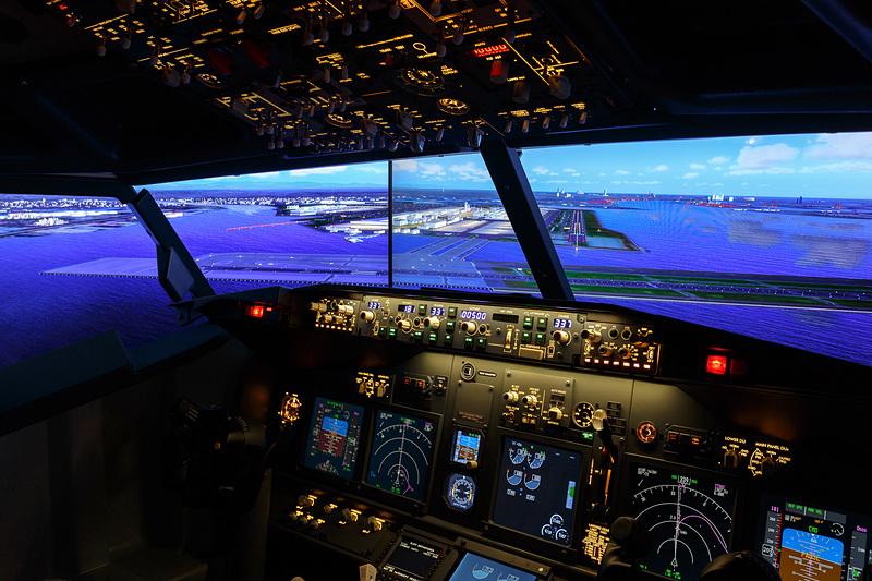 フライトシミュレータ設置イメージ