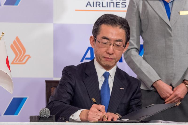 ANAとシンガポール航空が共同事業に向け提携。6か国対象に両社で路線網・サービスを強化(4/11)