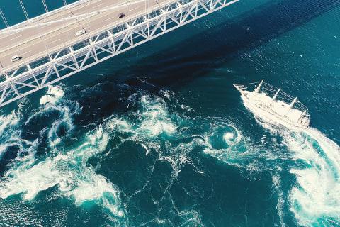 ジョイポート南淡路、鳴門海峡のうずしおクルーズに「秋の大渦 ...