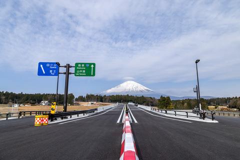 開通前の新東名 御殿場JCT~新御殿場ICと国道138号バイパスを走って ...