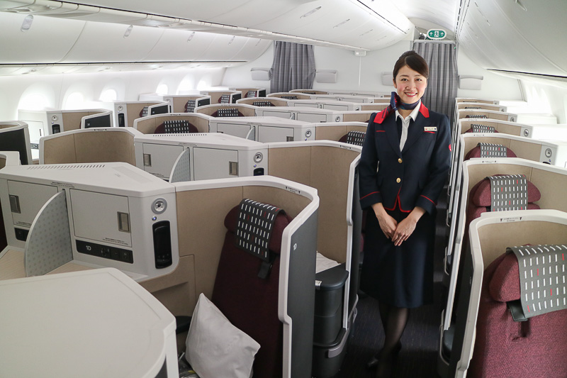 Jal、ビジネスクラス「sky Suite Iii」を備えた新「jal Sky Suite 787」(ss9ii)を