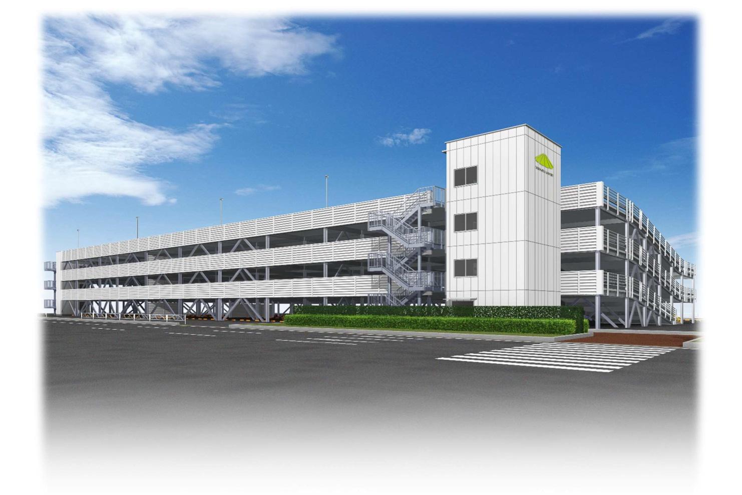 高松空港、立体駐車場建設のため約4か月半にわたり駐車場を ...
